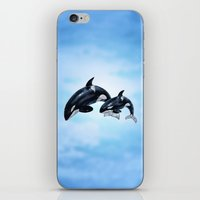 orca iPhone & iPod Skins featuring Orca by vervex