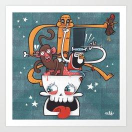 Do You Voodoo? Art Print
