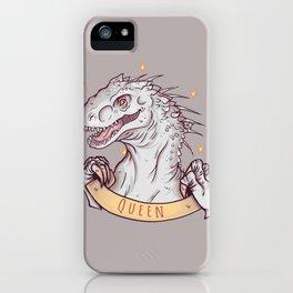 Indominus Rex is a queen! iPhone Case