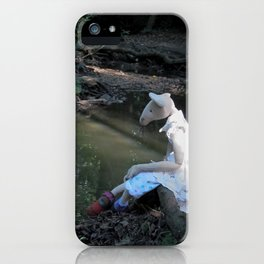 Miss Mouse by the Stream iPhone Case