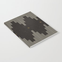 Southwestern Minimalist Black & White Notebook