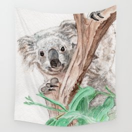 Koala Peek-A-Boo Wall Tapestry