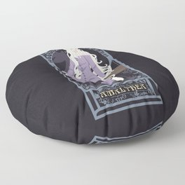 Amalthea Nouveau - The Last Unicorn Floor Pillow