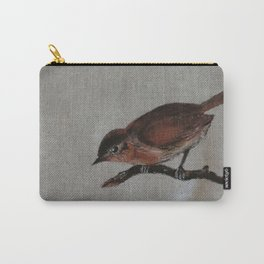 A red Bird Carry-All Pouch