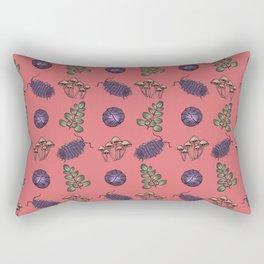 Creepy crawlies & wonders of nature Rectangular Pillow