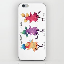 Dancing Yabbuts iPhone Skin