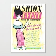 Fashion Event Canvas Print