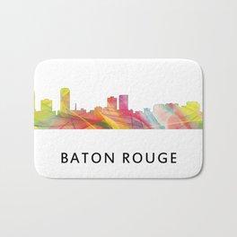 Baton Rouge Louisiana Skyline Bath Mat