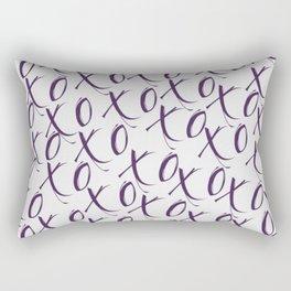 X's and O's Rectangular Pillow