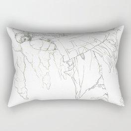 Knights Shame Rectangular Pillow
