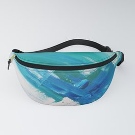 Turquoise Compositon IV Fanny Pack