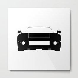 Race Car Icon Metal Print