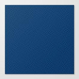 10 Print: Thin Blue Canvas Print