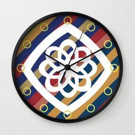 Flower King Wall Clock