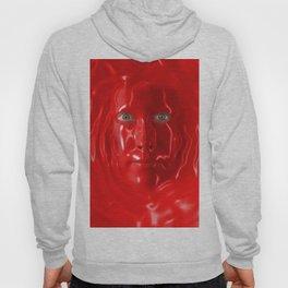 Red liquid Hoody