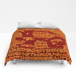 Charred 'browns' Comforters