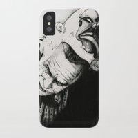 joker iPhone & iPod Cases featuring Joker by Sinpiggyhead