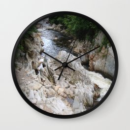 Gorge Aerial View Wall Clock