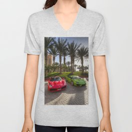 Dubai SuperCars Unisex V-Neck