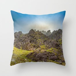 Lost in mountains Carrantouhill | Ireland Throw Pillow