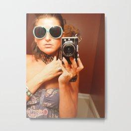 Camera Strap Metal Print