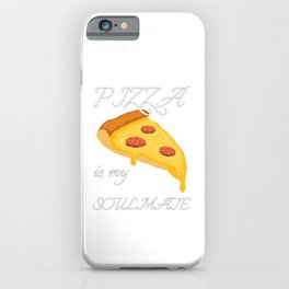 Show your endless infinite love Soulmate T-Shirt Pizza iPhone Case