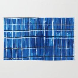 Blue Plaid Rug