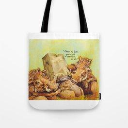 ugly warthog Tote Bag