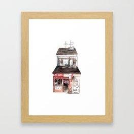 Restaurant Framed Art Print