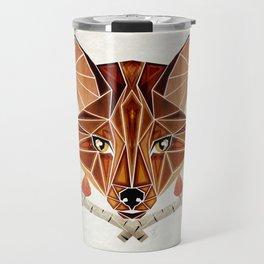 fox autumn Travel Mug