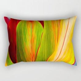 Ti Leaf Series #1 Rectangular Pillow