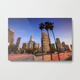 Los Angeles 01 - USA Metal Print