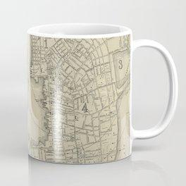 Vintage Map of Newport Rhode Island (1901) Coffee Mug