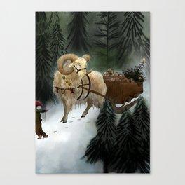 julebukk Canvas Print