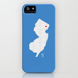 New Jersey Love iPhone Case