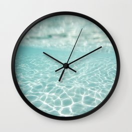 Under Water Light Wall Clock