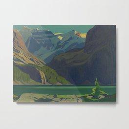 J. E. H. MacDonald, 'Lake O'Hara', 1929, oil on canvas Canadian Landscape Artist Metal Print