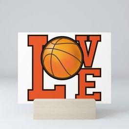 Basketball Lovers Mini Art Print