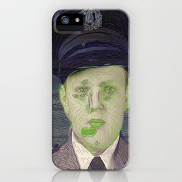 Hard Hearted Men Found World Wide iPhone Case