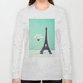 Paris Je T'aime Long Sleeve T-shirt
