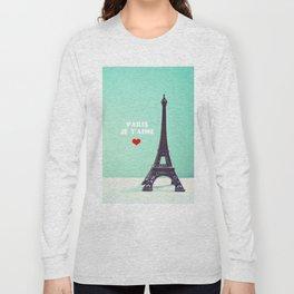 Paris Je T'aime Long Sleeve T-shirt