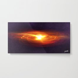 """Birth your new Universe"" Metal Print"