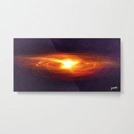"""Birth your new Universe"" Metal Print"
