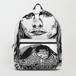 Axel Rose Portrait Backpack