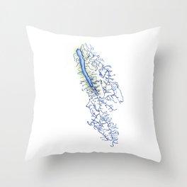 Owasco Lake Throw Pillow
