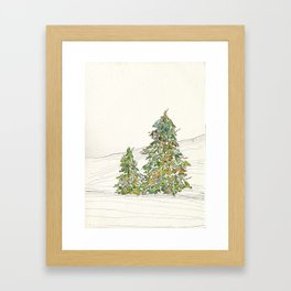 winterlong Framed Art Print