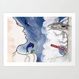 Follow the Dream Art Print