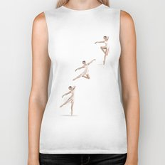 Ballet Dance Moves Biker Tank