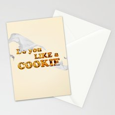 do you like a cookie Stationery Cards