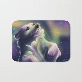 Aurora Bearialis Bath Mat